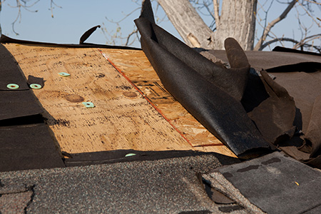 roof-damaged-by-water-damage